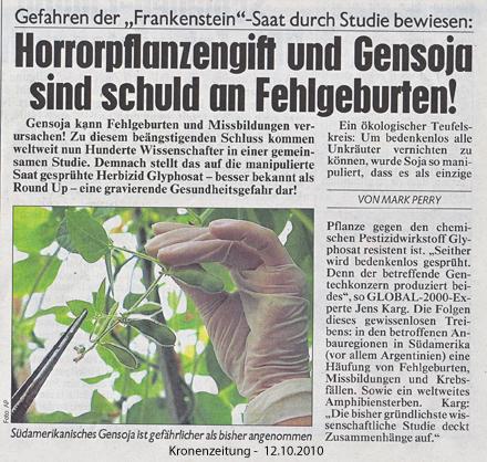 Glyphosat   Gen-Soja (2/2)